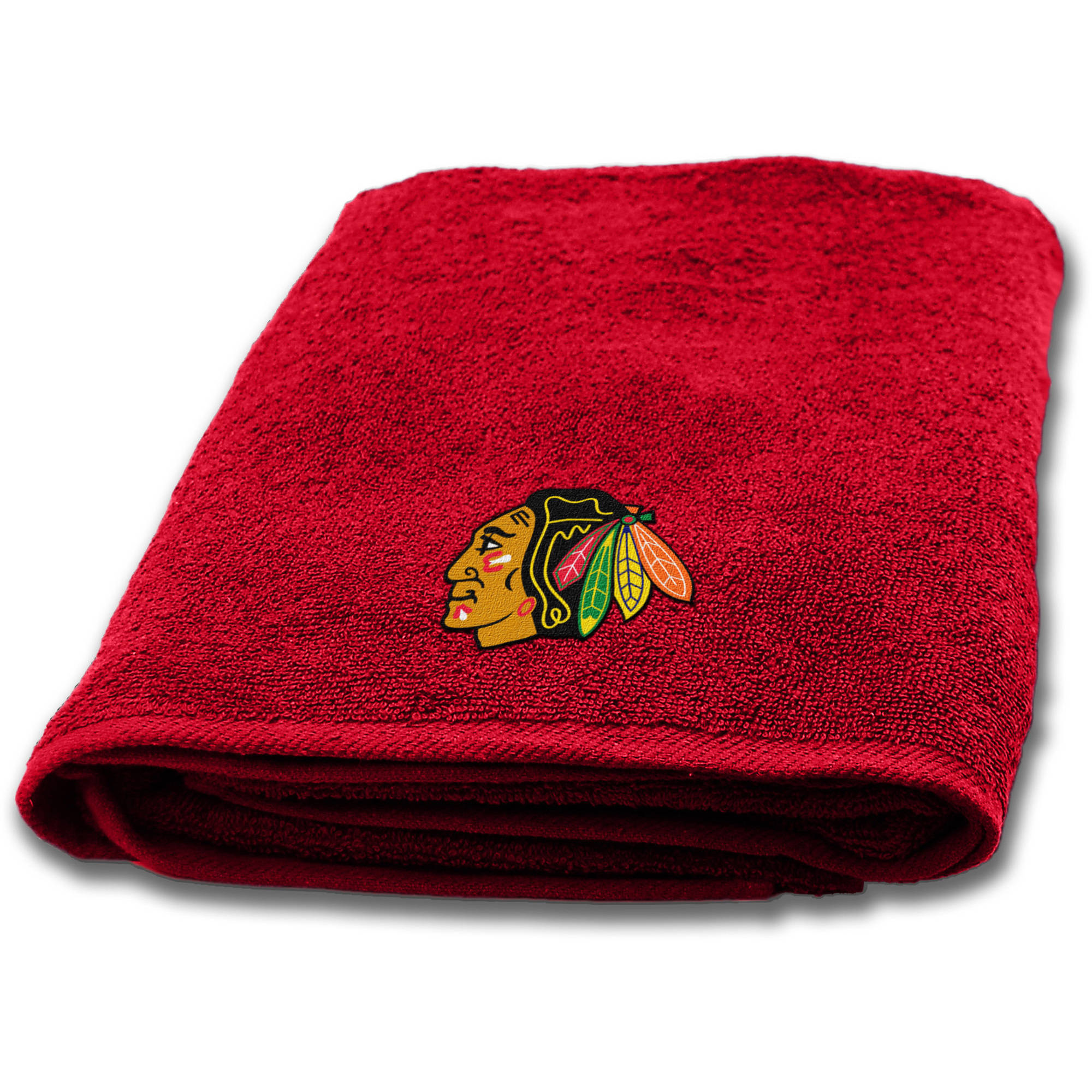 "NHL Chicago Blackhawks 25""x50"" Applique Bath Towel"