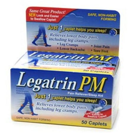 Legatrin Pm Caplets 50 Caplets  Pack Of 2