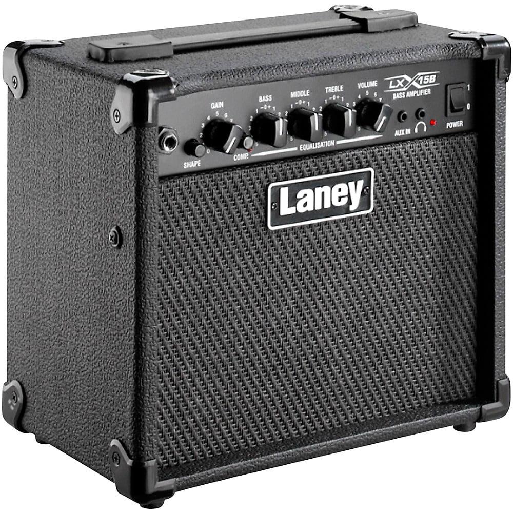 Laney LX15B 15W 2x5 Bass Combo Amp Black