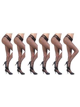 509af186e Product Image JenniWears Women s 6-Pack Seamless Fishnet Pantyhose