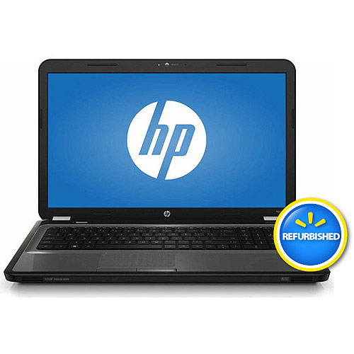 """HP Refurbished Silver 17.3"""" Pavilion G7-2341dx Laptop PC with AMD Quad-Core A8-4500M Processor, 4GB Memory, 750GB Hard Drive and Windows 8"""