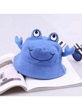 Outtop Kids Toddlers Baby Cartoon Animal Sun Basin Cap Children Fisherman Hat Sunhat
