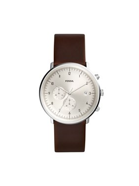 Fossil Men's Chase Timer Leather Chronograph Watch (Style: FS5486)