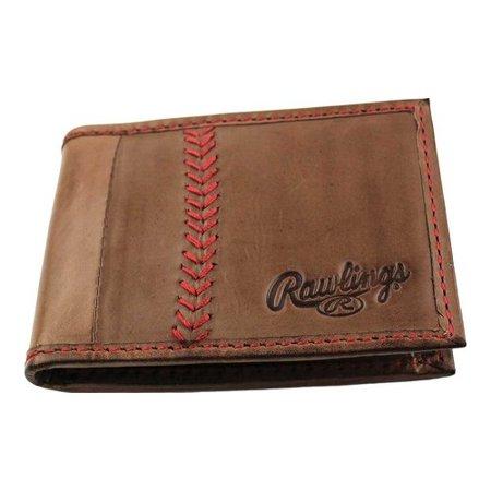 dcfeb0a9a2 Rawlings - Men s Rawlings Baseball Stitch Front Pocket Wallet ...