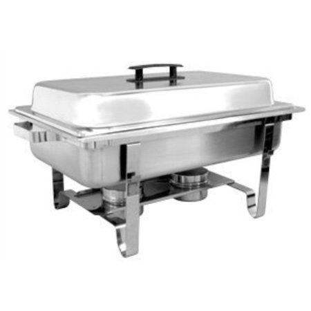 Browne Foodservice HL725A Stainless Steel Full Economy Chafer, Rectangular, 8-Quart (Economy Chafing Dish)