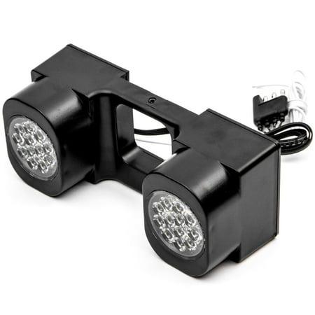 Krator LED Hitch Light Brake Reverse Signal Light for Trucks Trailer SUV 2