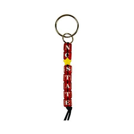 North Carolina State Bead Keychain (Beaded Keychains)