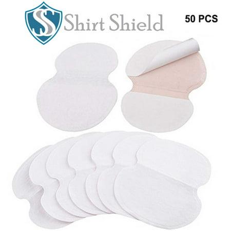 Underarm Sweat & Perspiration Pads - Shirt Shield Sweat Protection Disposable Peel & Stick Absorbent Armpit Guards - Discreet, Comfortable, Sweat Free, Odor Blocker, Peel & Stick Dress Shields