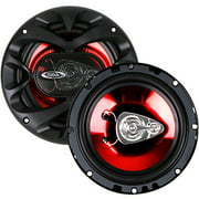 "Boss Audio CH6530 6.5"" 3-Way, Car Speakers Full Range Chaos Speakers - 300W (Pair of Speakers)"