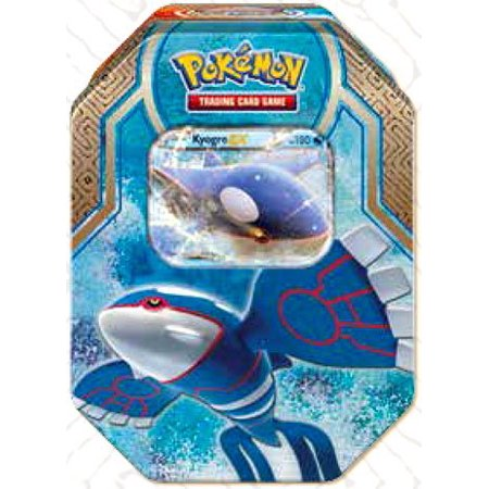 Pokemon Legends of Hoenn Kyogre-EX Collector Tin, From USA,Brand Seige (Kyogre Ex)