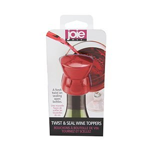 Joie Twist   Seal Wine Bottle Topper   Assorted Color By  A Fresh Twist On Sealing Open Wine Bottles By Msc International