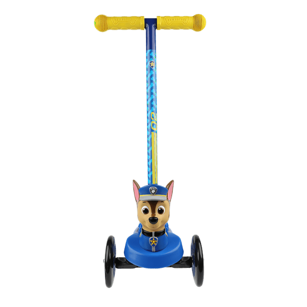 Paw Patrol Chase 3d Scooter With 3 Wheels And Tilt To Turn Walmart Com Walmart Com