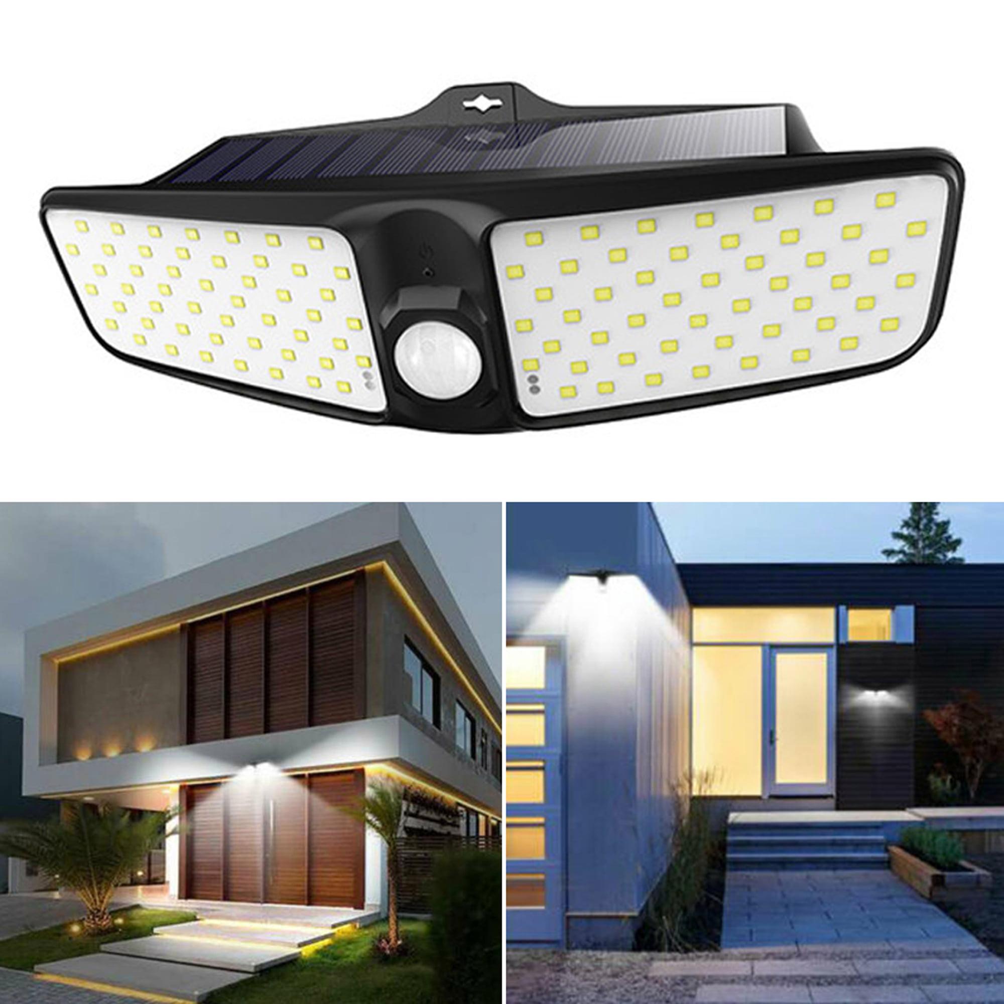 100 LED Security Detector Solar Spot Light Motion Sensor Outdoor Yard Floodlight