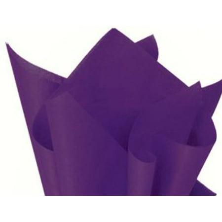 100 Sheets PURPLE Gift Wrap Pom Pom Tissue Paper 15x20 - Purple Tissue Paper