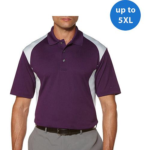 Ben Hogan's Big Men's Short Sleeve 2 Color Block Polo