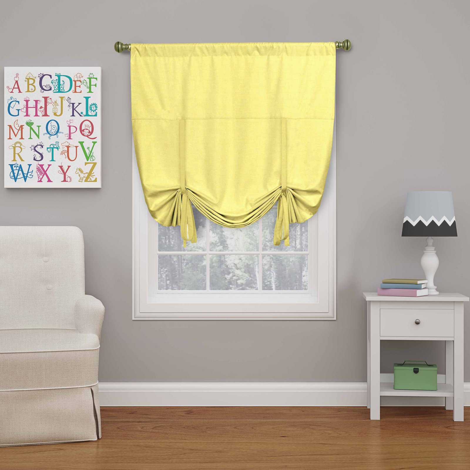 Eclipse Kendall Room Darkening Window Tie-up Shade - Walmart.com