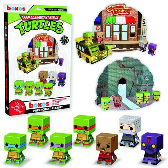 Funko Teenage Mutant Ninja Turtles Boxos Teenage Mutant Ninja Turtles Playset