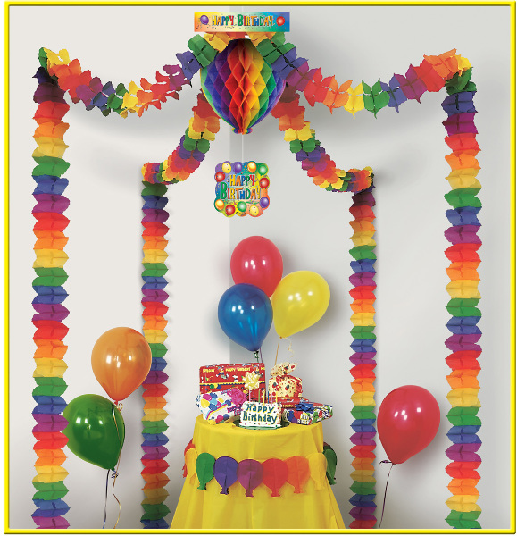 Ddi Birthday Party Canopy (pack Of 18)