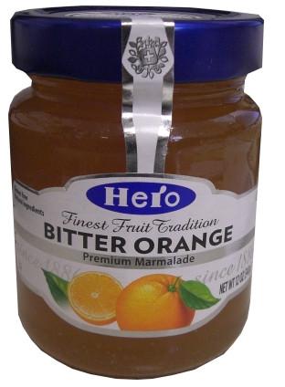 Hero Orange Marmalade, Bitter, 12 oz (340g) by