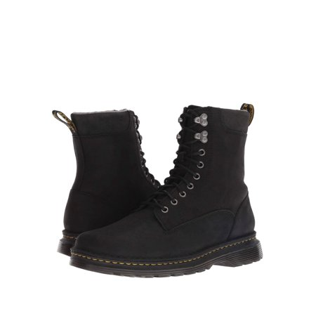 Dr. Martens Vincent Hk 9 Tie Boot Black Uk 12 - Boys Dr Martens Boots