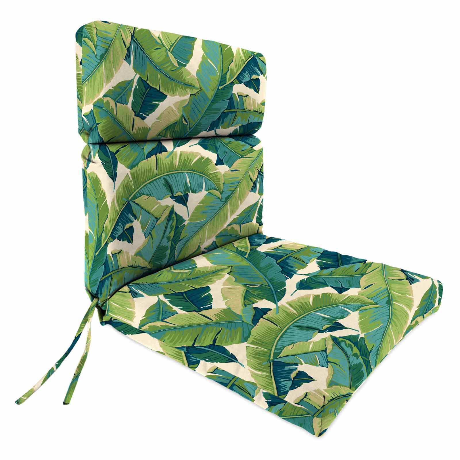 Jordan Manufacturing High Back Balmoral Opal Outdoor Chair Cushion