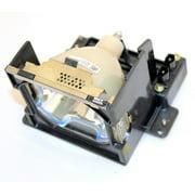 Sanyo PLC-XP45 Projector Housing with Genuine Original OEM Bulb