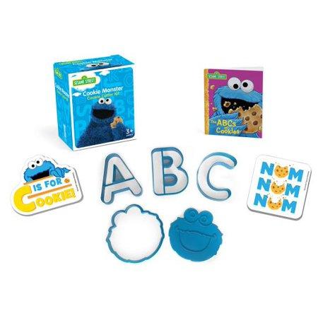 Sesame Street: Cookie Monster Cookie Cutter Kit - Sesame Street Cookies