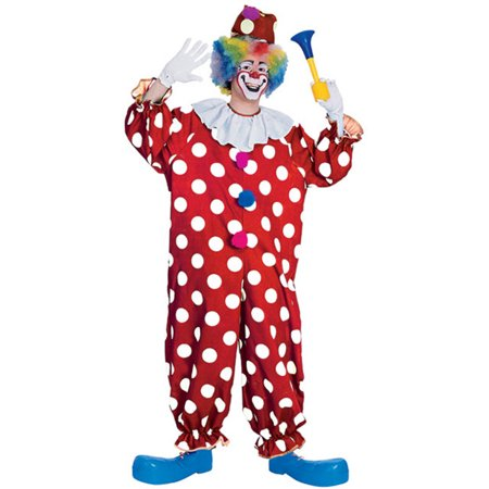 Adult Dotted Clown Costume Rubies 55052