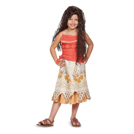 Four Person Halloween Costume (Disney Princess Moana Classic Child Halloween)