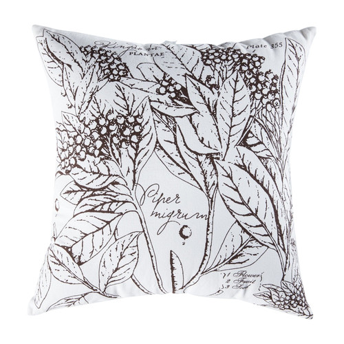 Koko Company Uruli Pepper Cotton Throw Pillow
