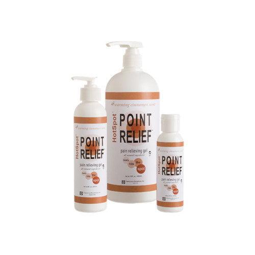 Point Relief HotSpot gel, 4 ounce, 24 each