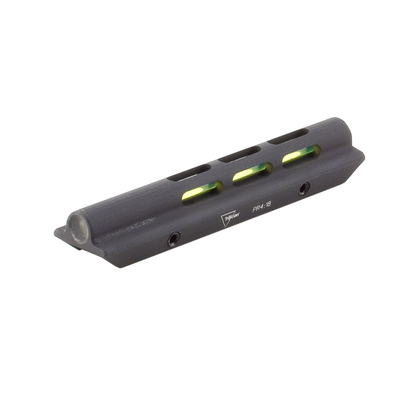 "Trijicon Shotgun Fiber Optic Bead Sight Green, .210"" � .280"" Wide Ribs, Black by Trijicon"