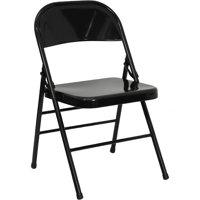 A Line Furniture Orchid Black folding chairs Orchid Black Folding Chairs 1