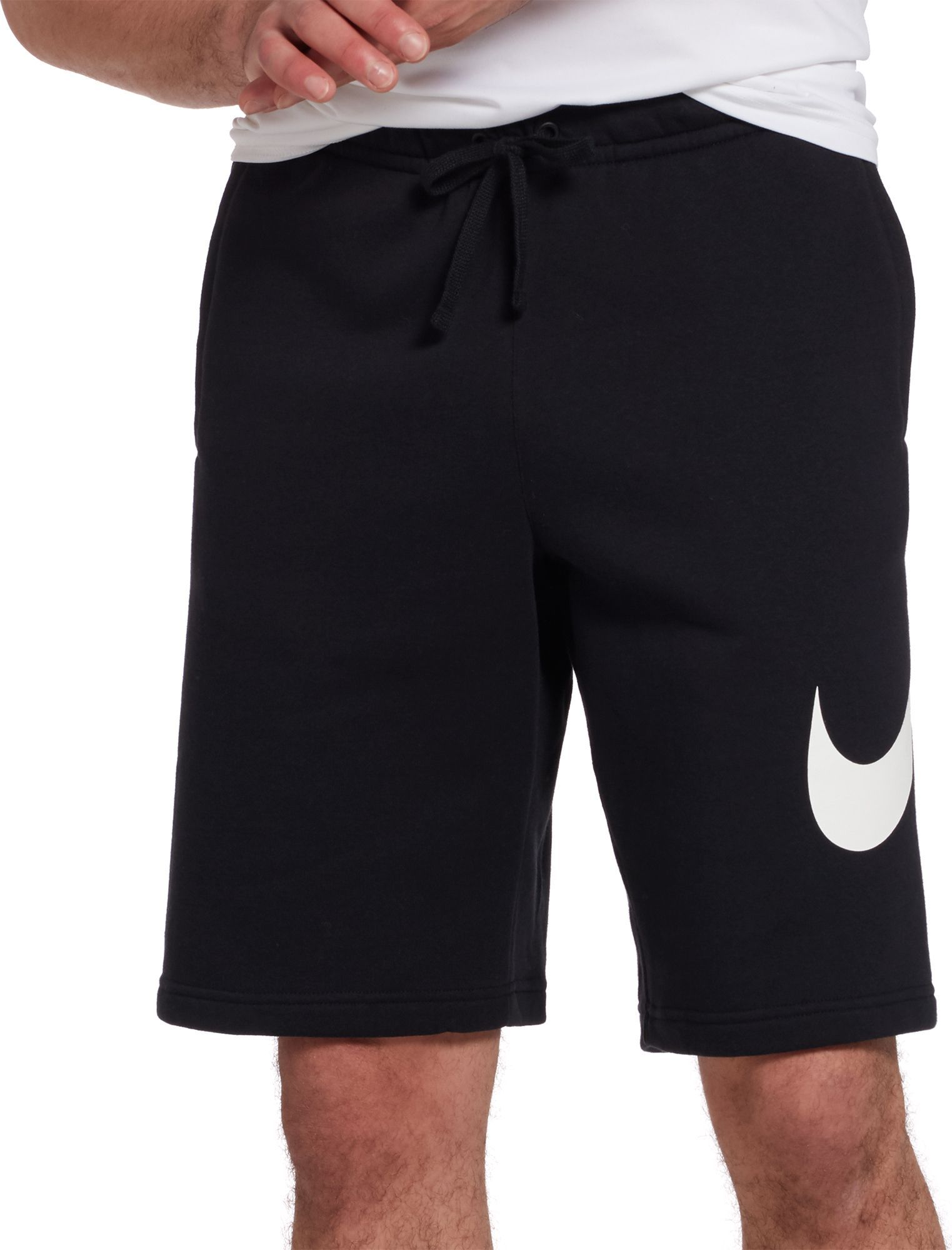 FZ Merchandise - Nike Men's Sportswear Club Fleece Sweatshorts,  Black/White, Medium - Walmart.com