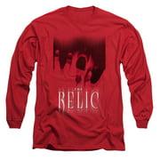 Relic Men's  Scream Long Sleeve Red