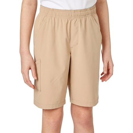 Field & Stream Youth Pull-On Shorts Khaki S