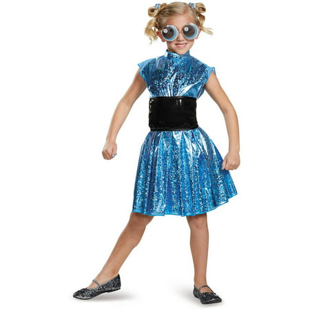 powerpuff girls bubbles deluxe child halloween costume