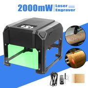 2000mW USB Mini Desktop Laser Engraving Machine DIY Laser Engraver Machine Logo Marking Engraver