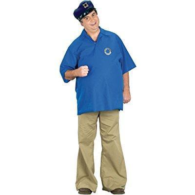 Fun World funworld skipper costume, blue, one size