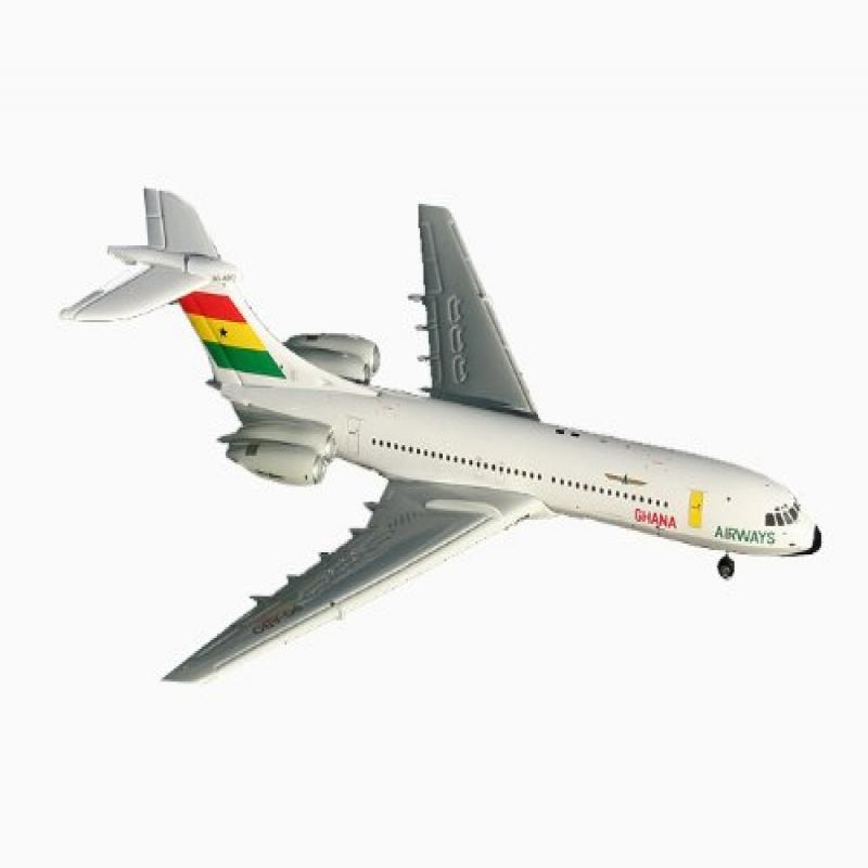 Gemini Jets Ghana Airways VC-10 Standars 1:400 Scale