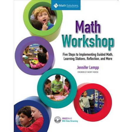 Math Workshop: Five Steps to Implementing Guided Math, Learning Stations, Reflection, and More (Hardcover)](Halloween Learning Stations)