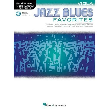 Hal Leonard Jazz Blues Favorites - Viola -Audio Online