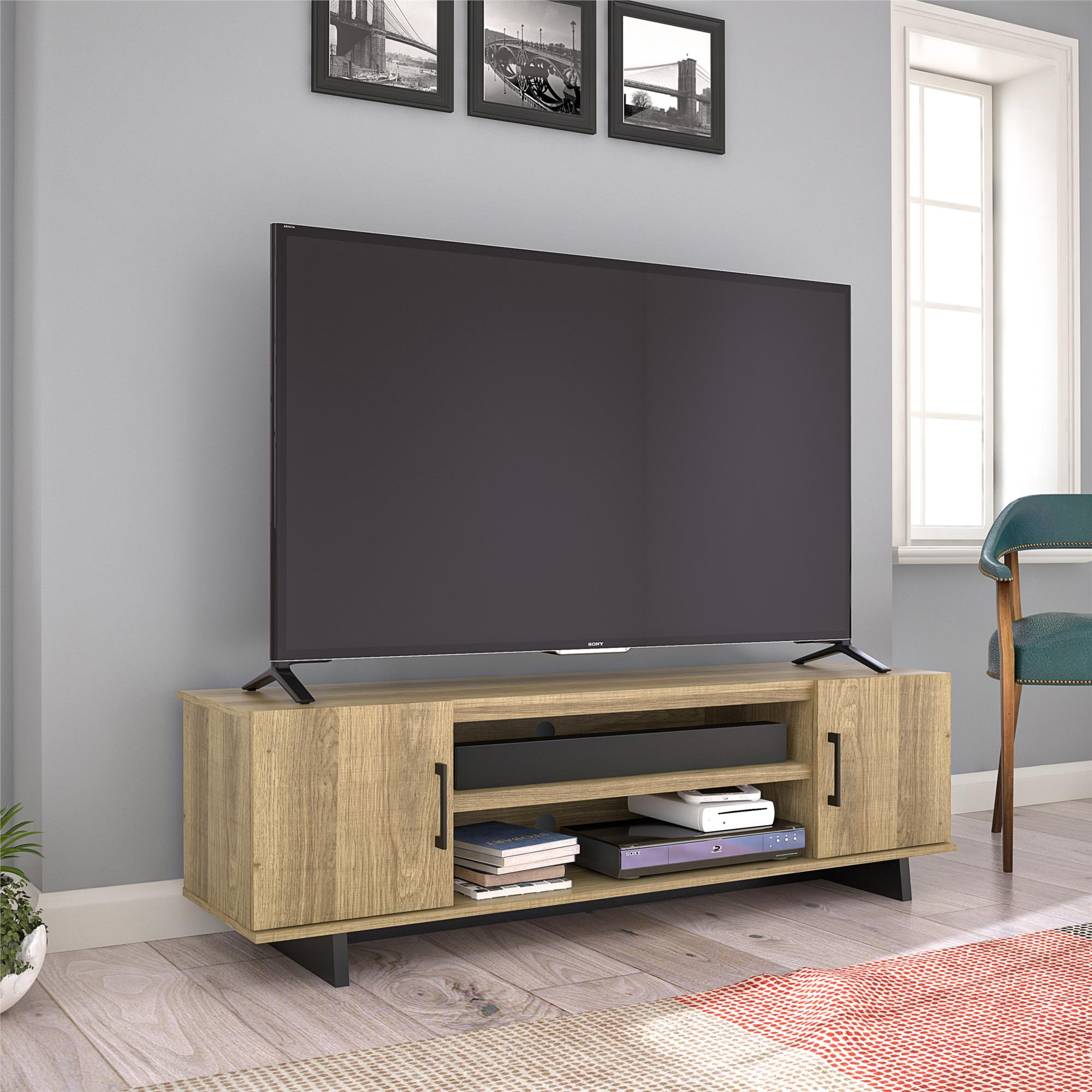 Southlander Tv Stand For Tvs Up To 65 Multiple Colors Walmart Com Walmart Com