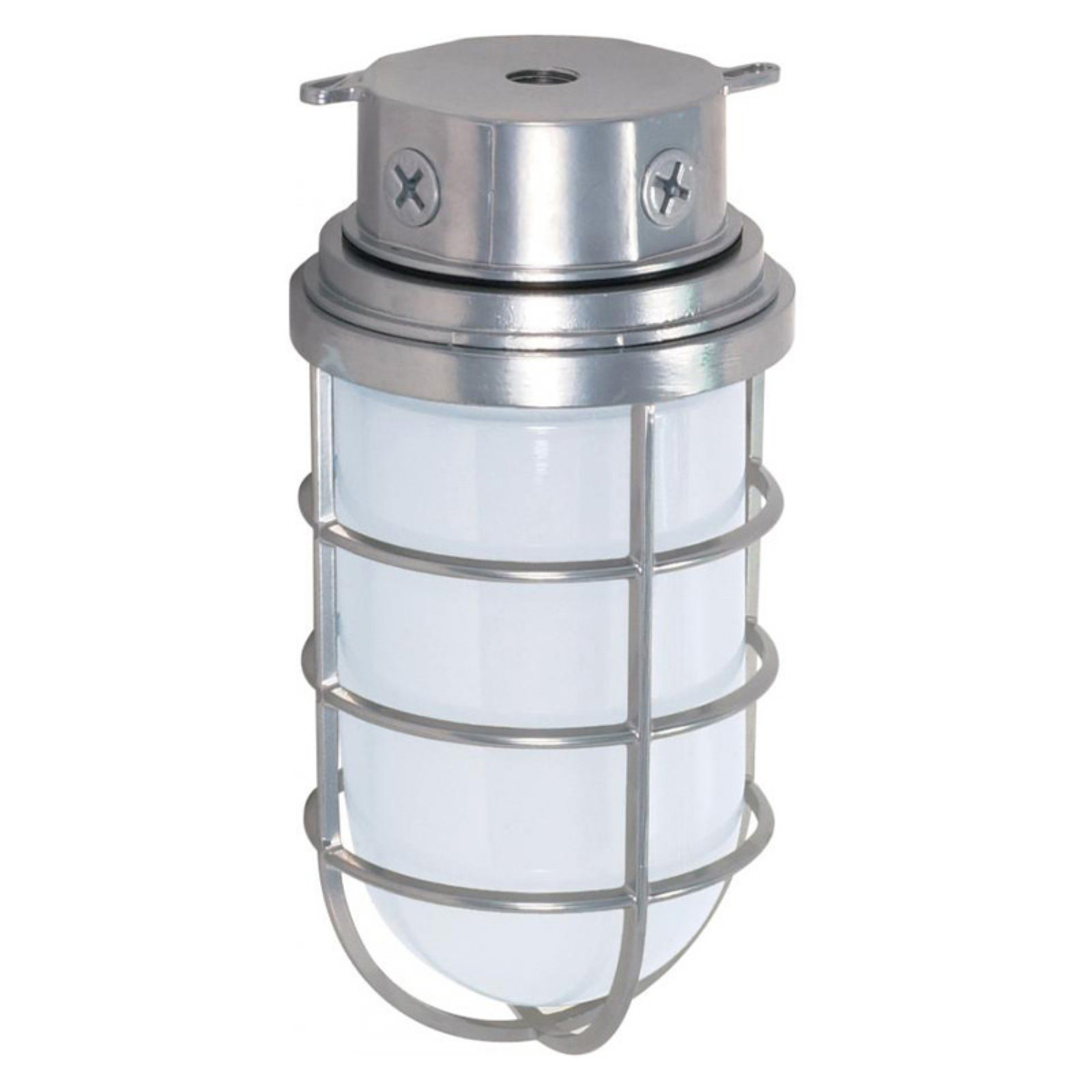 "Nuvo Lighting 76/626 Single Light 10"" 200W Industrial Style Surface Mount Fixtur"