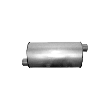 Dakota Mufflers - Davico 498566 Muffler For Dodge Dakota, Natural OE Replacement, Center