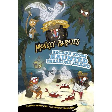 Escape from Haunted Treasure Island : A 4D Book - Haunted Island Halloween Treasure Island