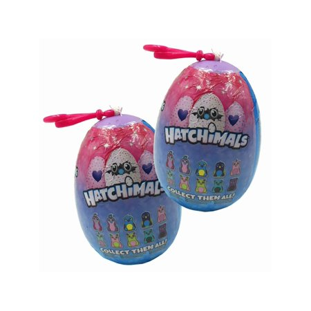Sv650 Clip Ons - Plush HATCHIMALS Glittering Garden 2.5 INCH Clip ONS 2 Eggs