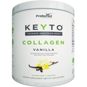 Keto Collagen Protein Powder with MCT Oil – Keto and Paleo Friendly Pure