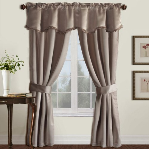 United Curtain Company Burlington 5-Piece Window Set