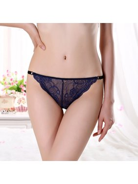 c68bd16a3d2a Product Image Women Sexy Seamless Underwear Lace Panties String Briefs  Lingerie Tanga Thong M L XL
